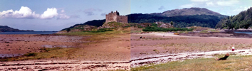 Castle Tioram at Dorlin Acharacle